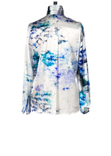 Load image into Gallery viewer, Sarah Badeni Back View Watercolour Blouse