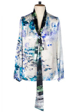 Load image into Gallery viewer, Sarah Badeni Watercolour Limited Edition Blouse
