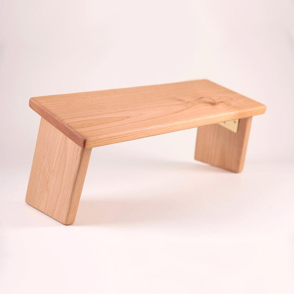 Alder Hardwood Folding Bench