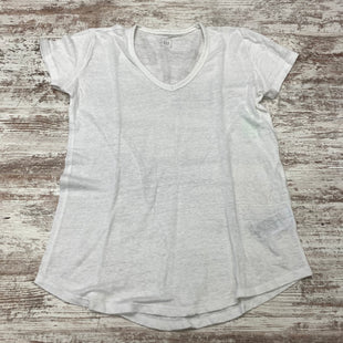 Primary Photo - BRAND: GAP O STYLE: TOP SHORT SLEEVE BASIC COLOR: WHITE SIZE: S SKU: 180-18071-11710