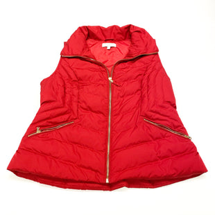 Primary Photo - BRAND: TALBOTS STYLE: VEST DOWN COLOR: RED SIZE: PETITE  MEDIUM SKU: 180-18071-9745