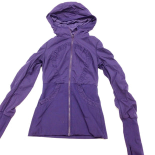 Primary Photo - BRAND: LULULEMON STYLE: ATHLETIC JACKET COLOR: PURPLE SIZE: S OTHER INFO: (6) REVERSIBLE- AS IS- DESIGNER SKU: 180-18083-17440