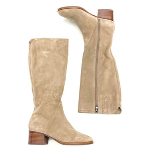 Primary Photo - BRAND: VIA SPIGA STYLE: BOOTS KNEE COLOR: TAUPE SIZE: 7.5 OTHER INFO: AS IS SKU: 180-18083-16213
