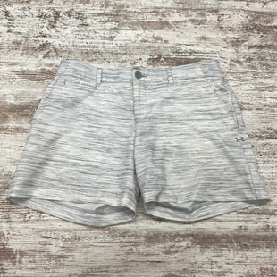 Primary Photo - BRAND: UNDER ARMOUR STYLE: ATHLETIC SHORTS COLOR: GREY SIZE: 10 SKU: 180-18083-25151