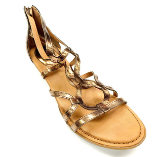 Primary Photo - BRAND: BOC STYLE: SANDALS FLAT COLOR: BRONZE SIZE: 8 SKU: 180-18071-6524