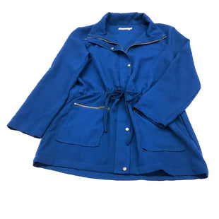 Primary Photo - BRAND: JUST FAB STYLE: JACKET OUTDOOR COLOR: BLUE SIZE: L SKU: 180-18057-12462