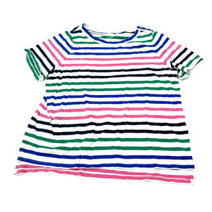 Primary Photo - BRAND: TALBOTS STYLE: TOP SHORT SLEEVE BASIC COLOR: STRIPED SIZE: 2X SKU: 180-18083-24761