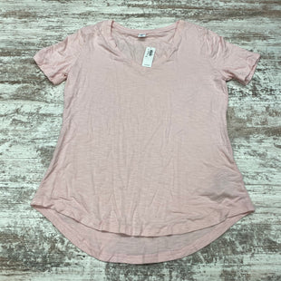 Primary Photo - BRAND: OLD NAVY STYLE: TOP SHORT SLEEVE BASIC COLOR: PINK SIZE: XS SKU: 180-18057-13497