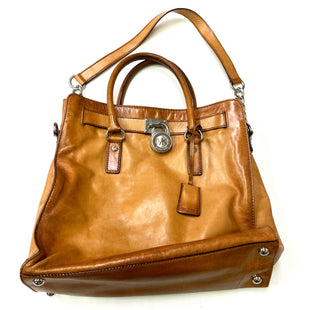 Primary Photo - BRAND: MICHAEL KORS STYLE: HANDBAG DESIGNER COLOR: BROWN SIZE: LARGE OTHER INFO: HAMILTON, AS IS SKU: 180-18083-20933