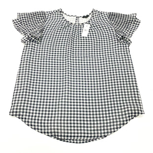 Primary Photo - BRAND: ANN TAYLOR STYLE: TOP SHORT SLEEVE COLOR: BLUE WHITE SIZE: M SKU: 180-18038-105266