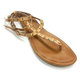 Primary Photo - BRAND: MOSSIMO STYLE: SANDALS FLAT COLOR: BROWN SIZE: 9.5 SKU: 180-18071-4538