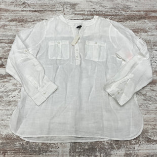 Primary Photo - BRAND: TALBOTS STYLE: TOP LONG SLEEVE COLOR: WHITE SIZE: PETITE LARGE OTHER INFO: NWT SKU: 180-18071-11336