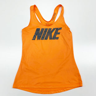 Primary Photo - BRAND: NIKE STYLE: ATHLETIC TANK TOP COLOR: ORANGE SIZE: S SKU: 180-18071-5794