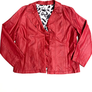 Primary Photo - BRAND: CHICOS STYLE: BLAZER JACKET COLOR: RED SIZE: XL SKU: 180-18057-11284