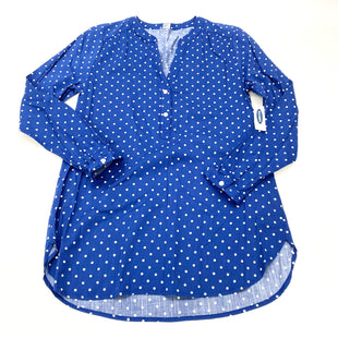 Primary Photo - BRAND: OLD NAVY O STYLE: TUNIC LONG SLEEVE COLOR: BLUE SIZE: S SKU: 180-18057-13665