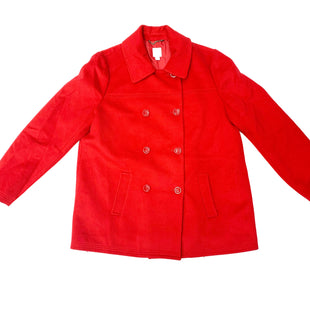 Primary Photo - BRAND: J JILL STYLE: COAT SHORT COLOR: RED SIZE: L SKU: 180-18074-272