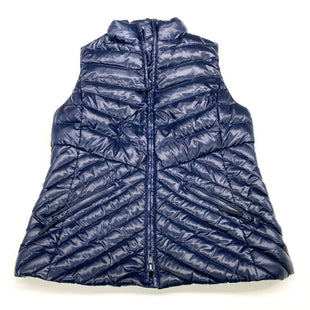 Primary Photo - BRAND: TALBOTS STYLE: VEST DOWN COLOR: NAVY SIZE: XS SKU: 180-18071-9308