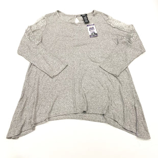 Primary Photo - BRAND: PREMISE STYLE: TOP LONG SLEEVE COLOR: GREY SIZE: XXL SKU: 180-18083-24351