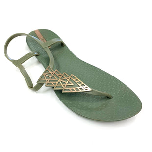 Primary Photo - BRAND:    CLOTHES MENTOR STYLE: SANDALS FLAT COLOR: GREEN SIZE: 9 OTHER INFO: IPAMEMA - SKU: 180-18071-10946