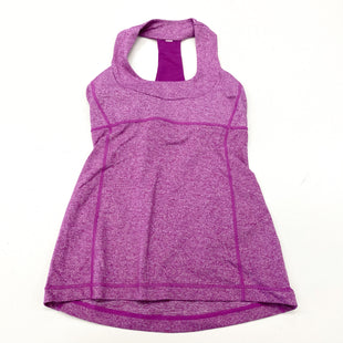 Primary Photo - BRAND: LULULEMON STYLE: ATHLETIC TANK TOP COLOR: PURPLE SIZE: S OTHER INFO: (4) DESIGNER SKU: 180-18083-25383