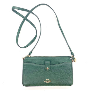 Primary Photo - BRAND: COACH STYLE: HANDBAG DESIGNER COLOR: GREEN SIZE: SMALL OTHER INFO: 32320 WITH WALLET AS IS SKU: 180-18095-182