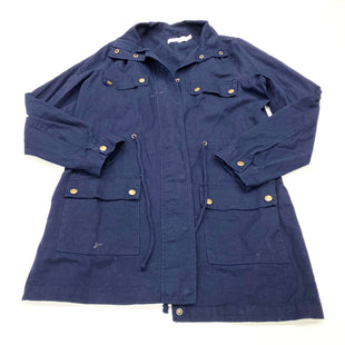 Primary Photo - BRAND: JUST FAB STYLE: JACKET OUTDOOR COLOR: BLUE SIZE: M SKU: 180-18038-103009