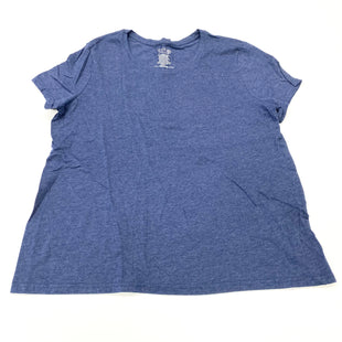 Primary Photo - BRAND: TIME AND TRU STYLE: TOP SHORT SLEEVE BASIC COLOR: NAVY SIZE: 3X SKU: 180-18083-23862