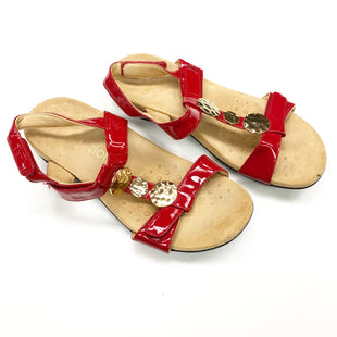 Primary Photo - BRAND: VIONIC STYLE: SANDALS FLAT COLOR: RED SIZE: 9 SKU: 180-18083-20646