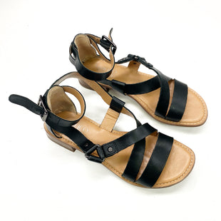Primary Photo - BRAND: FRANCO SARTO STYLE: SANDALS FLAT COLOR: BLACK SIZE: 6 OTHER INFO: AS IS SKU: 180-18083-24615