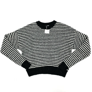 Primary Photo - BRAND: H&M STYLE: SWEATER HEAVYWEIGHT COLOR: BLACK WHITE SIZE: S SKU: 180-18038-96775