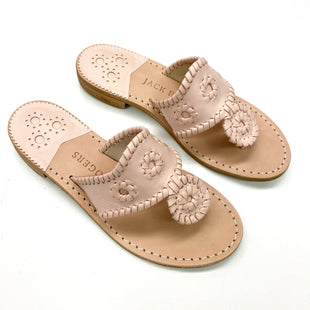 Primary Photo - BRAND: JACK ROGERS STYLE: SANDALS FLAT COLOR: DUSTY PINK SIZE: 5.5 SKU: 180-18038-105776