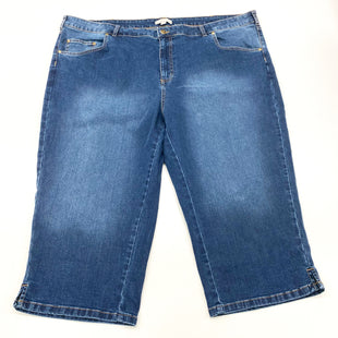 Primary Photo - BRAND: WOMAN WITHIN STYLE: CAPRIS COLOR: DENIM SIZE: 26 SKU: 180-18083-24995