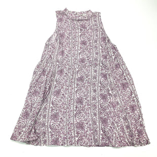Primary Photo - BRAND: EN CREME STYLE: DRESS SHORT SLEEVELESS COLOR: WHITE PURPLE SIZE: L SKU: 180-18083-23750