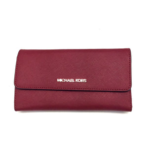 Primary Photo - BRAND: MICHAEL KORS STYLE: WALLET COLOR: RED SIZE: MEDIUM SKU: 180-18083-20440