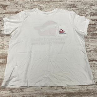 Primary Photo - BRAND: VINEYARD VINES STYLE: TOP DESIGNER COLOR: WHITE SIZE: 2X OTHER INFO: SHORT SLEEVE BASIC SKU: 180-18071-11625