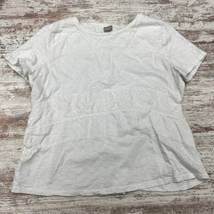 Primary Photo - BRAND: CHICOS STYLE: TOP SHORT SLEEVE BASIC COLOR: WHITE SIZE: XL OTHER INFO: CHICOS 3=US XL SKU: 180-18083-24767