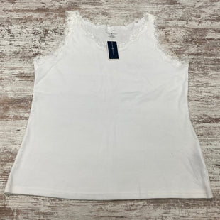 Primary Photo - BRAND: KAREN SCOTT STYLE: TANK TOP COLOR: WHITE SIZE: XL SKU: 180-18071-11595