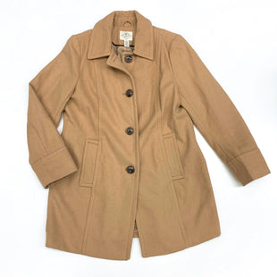 Primary Photo - BRAND: ST JOHNS BAY O STYLE: COAT WOOL COLOR: TAN SIZE: L OTHER INFO: 55% WOOL 45% POLYESTER SKU: 180-18083-22964