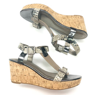 Primary Photo - BRAND: TAHARI STYLE: SANDALS LOW COLOR: SNAKESKIN PRINT SIZE: 8.5 SKU: 180-18095-188