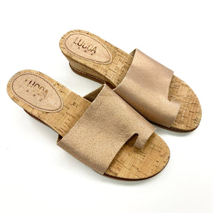 Primary Photo - BRAND:    CLOTHES MENTOR STYLE: SANDALS LOW COLOR: ROSE SIZE: 8 OTHER INFO: LUCCA LANE - SKU: 180-18038-103391