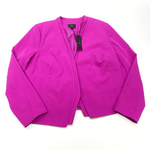 Primary Photo - BRAND: WORTHINGTON STYLE: BLAZER JACKET COLOR: PURPLE SIZE: 1X OTHER INFO: (18) SKU: 180-18038-105486