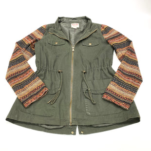 Primary Photo - BRAND: MOSSIMO STYLE: JACKET OUTDOOR COLOR: OLIVE SIZE: S SKU: 180-18038-102067
