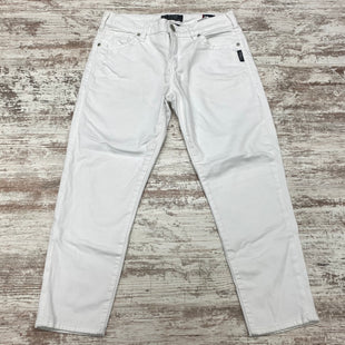 Primary Photo - BRAND: SILVER STYLE: CAPRIS COLOR: DENIM WHITE SIZE: 8 OTHER INFO: (30) DESIGNER SKU: 180-18038-105811