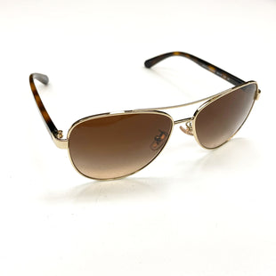 Primary Photo - BRAND: COACH STYLE: SUNGLASSES COLOR: BROWN OTHER INFO: HORSE AND CARRIAGE PILOT, L1015, RETAIL $175 SKU: 180-18083-20776