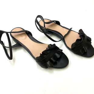 Primary Photo - BRAND: TARYN ROSE SHOES STYLE: SANDALS FLAT COLOR: BLACK SIZE: 9 SKU: 180-18038-89392