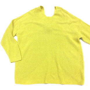 Primary Photo - BRAND: ANN TAYLOR LOFT STYLE: SWEATER LIGHTWEIGHT COLOR: CHARTREUSE SIZE: 2X SKU: 180-18083-9459