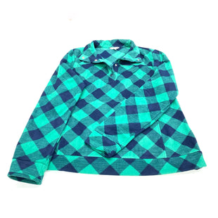 Primary Photo - BRAND: CROWN AND IVY STYLE: FLEECE COLOR: BLUE GREEN SIZE: XL SKU: 180-18083-23036