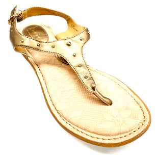 Primary Photo - BRAND: BOC STYLE: SANDALS FLAT COLOR: GOLD SIZE: 8 SKU: 180-18038-97561