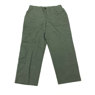 Primary Photo - BRAND: CHRISTOPHER AND BANKS STYLE: CAPRIS COLOR: OLIVE SIZE: 4 SKU: 180-18057-14010
