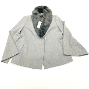Primary Photo - BRAND: BANANA REPUBLIC O STYLE: JACKET OUTDOOR COLOR: GREY SIZE: PETITE  MEDIUM SKU: 180-18038-100309